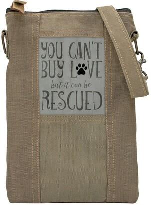 Vintage Addiction Rescued Dog Tent Crossbody Bag Bag