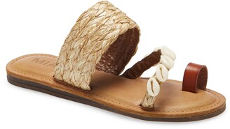 Mia Bea Cowrie Shell Sandal