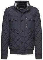 Tommy Hilfiger Diamond Quilted Jacket, Navy Blazer