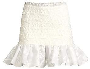 Alexis Women's Lotus Smocked Mini Skirt
