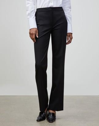 Lafayette 148 New York Italian Stretch Wool Menswear Pant