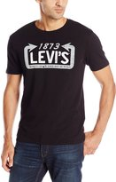 Levi's Men's Graphic Set-In Neck Tee Shirt