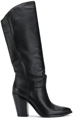 Ash Brandon stitched high boots