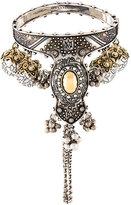 Alexander McQueen hand jewelled bangle