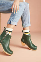 Swedish Hasbeens Zip It Emy Clog Boots
