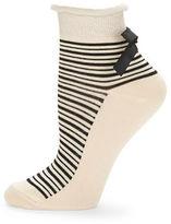 Free People Striped Ankle Socks