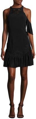 Jonathan Simkhai Pleated Lace Dress