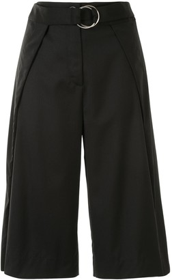 Eudon Choi Belted Cropped Trousers