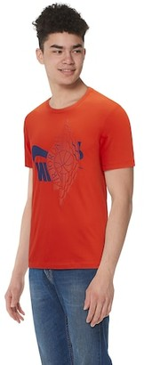 Jordan Futura Wings T-Shirt - Team Orange / Deep Royal Blue