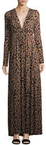 Rachel Pally Leopard-Print Long Caftan Maxi Dress, Plus Size