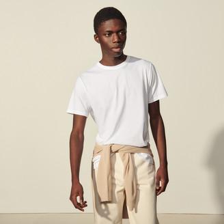 Sandro Washed cotton T-shirt
