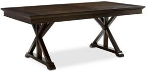 Furniture Baker Street Expandable Dining Trestle Table