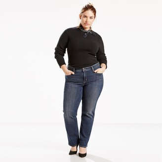 """Levi's 314 Plus Size Shaping Straight Jeans, Length 32"""""""