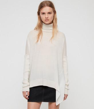 AllSaints Alda Roll Neck Sweater