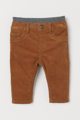 H&M Pull-on Corduroy Pants