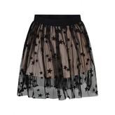 Stella McCartney KidsPink & Black Embroidered Stars Tulle Skirt