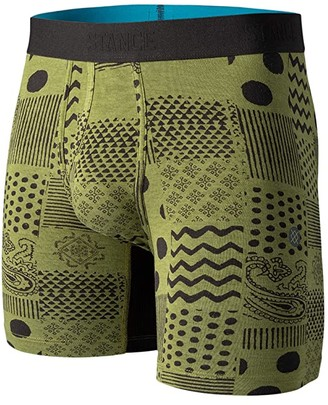 Stance Pox Boxer Brief (Green) Men's Underwear