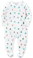 Carter's 1-Pc. Monster-Print Footed Coverall, Baby Boys (0-24 months)