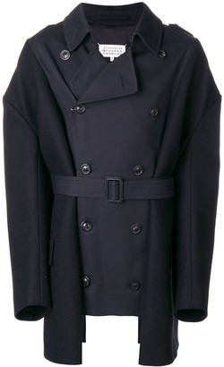 Maison Margiela Panelled Trench Coat