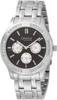 Swarovski Caravelle by Bulova Men's 43C32 Crystal Accented Dial Watch