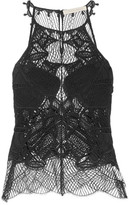 Jonathan Simkhai Corded Lace Top - Black