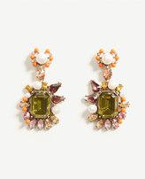 Ann Taylor Spring Crystal Baguette Earrings