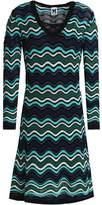 M Missoni Metallic Textured Crochet-Knit Dress