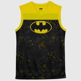 Batman Boys' Tank Top - Black