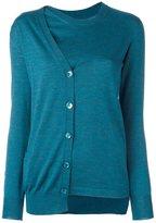Maison Margiela wrap-around asymmetric pullover