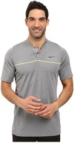 Tiger Woods Golf Apparel by Nike Nike Golf Vl Max Swing Knit Stripe Men's Short Sleeve Pullover