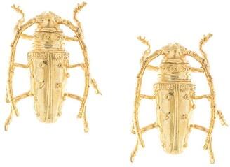Natia X Lako Beetle earrings