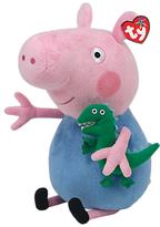 Peppa Pig Ty George and Buddy Beanie Baby, 33cm