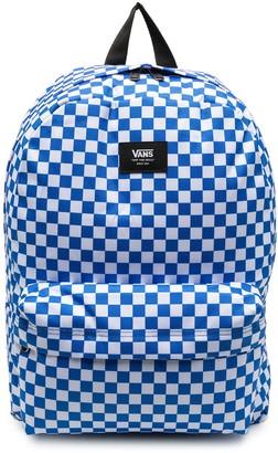 Vans Checked Print Backpack