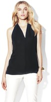 Vince Camuto V-Neck High Low Blouse