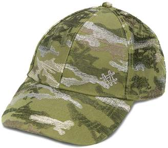 Mr & Mrs Italy embroidered camouflage cap