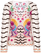 Temperley London Chimera Embroidered Top