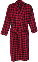 Hanes Men's Flannel Robe Tall Sizes
