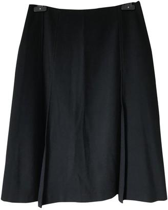 Martine Sitbon Black Wool Skirt for Women Vintage