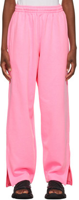 Balenciaga Pink Jogging Lounge Pants