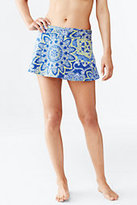 Lands' End Women's Swim Cover-up Skirt-Luggage Tan