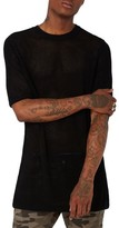 Topman Men's Aaa Collection Mesh Knit Pullover