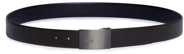 Armani Collezioni Reversible bovine leather belt
