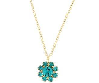 Rosaspina Firenze Florentine Garden Blue Zircon Necklace