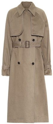 Acne Studios Brushed cotton trench coat