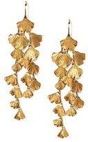 Tory Burch Ginkgo Leaf Earring