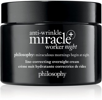 philosophy Anti-Wrinkle Miracle Worker Night + Line-Correcting Overnight Cream