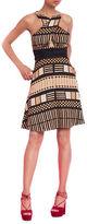Tracy Reese Peek-A-Boo Halter Dress