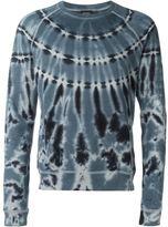 Diesel tie-dye sweatshirt
