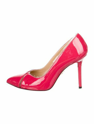 Charlotte Olympia Patent Leather Pumps Pink