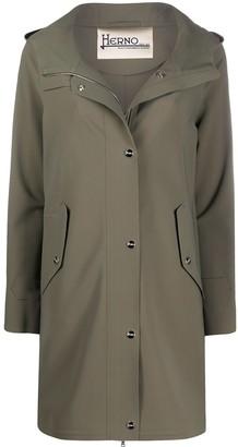 Herno Long Hooded Coat